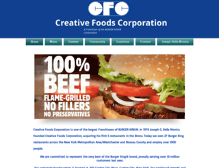 creativefoodscorp.com screenshot