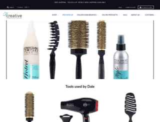 creativehairtools.com screenshot
