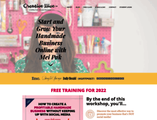 creativehiveco.com screenshot