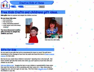 creativekidsathome.com screenshot