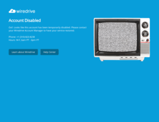 creativelive.wiredrive.com screenshot