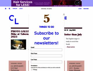 creativeloafing.com screenshot