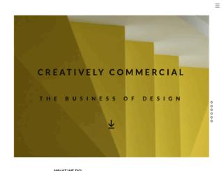 creativelycommercial.com screenshot