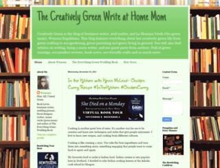 creativelygreen.blogspot.com screenshot