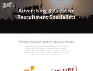 creativemovers.com screenshot