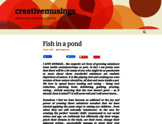 creativemusings.in screenshot