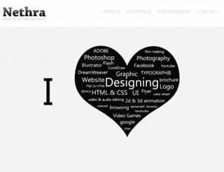 creativenethra.com screenshot