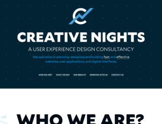 creativenights.com screenshot