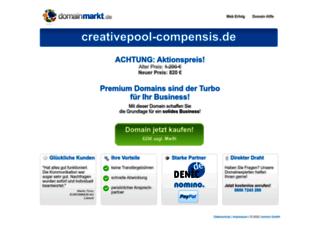 creativepool-compensis.de screenshot