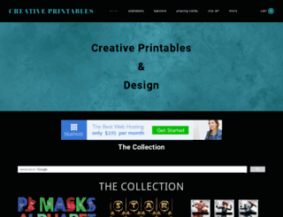 creativeprintables.org screenshot