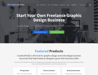 creativepublic.com screenshot