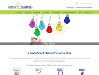 creativerealities.com screenshot