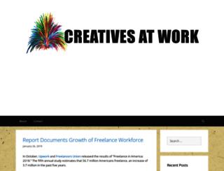 creativesatworkblog.com screenshot