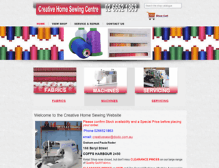 creativesewing.com.au screenshot
