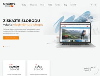 creativeshop.de screenshot