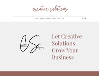 creativesolutionsservices.com screenshot