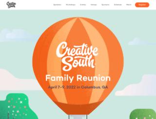 creativesouthga.com screenshot