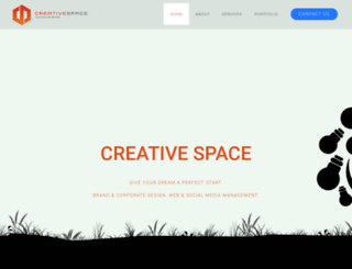creativespace.in screenshot