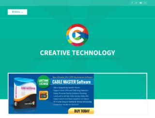 creativetechno2011.com screenshot