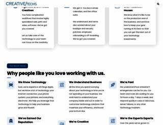 creativetechs.com screenshot