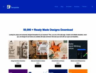 creativetemplate.net screenshot