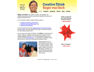 creativethink.com screenshot