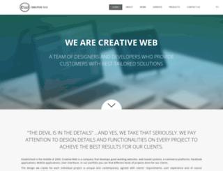 creativeweb.bg screenshot