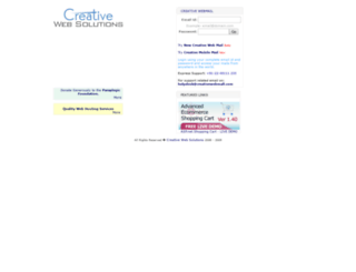 creativewebhosting.us screenshot