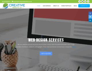 creativewebsiteuk.co.uk screenshot