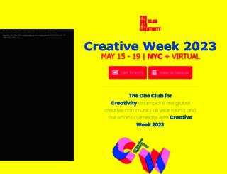 creativeweek.org screenshot