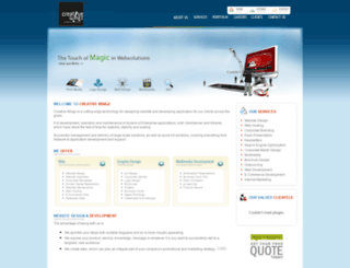 creativewingz.com screenshot