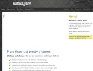 creativeworld.com.au screenshot