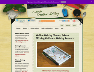 creativewritingcenter.com screenshot