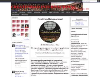 creatividadinternacional.com screenshot