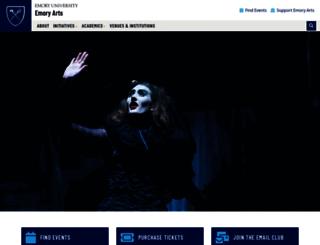 creativity.emory.edu screenshot