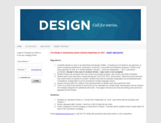 creativityawards.secure-awards.com screenshot