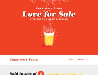 creativityfluid.com screenshot