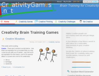 creativitygames.net screenshot