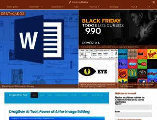 creativosonline.org screenshot