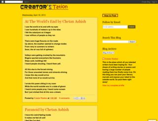 creatorstation.blogspot.com screenshot
