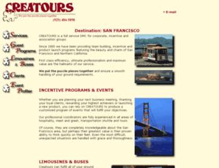 creatours.com screenshot