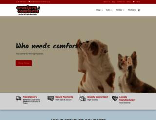 creature-comforts.co.za screenshot