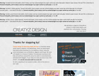creatyz.com screenshot