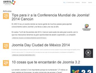 creaunsitiojoomla.com screenshot