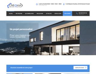 creaxia63.fr screenshot