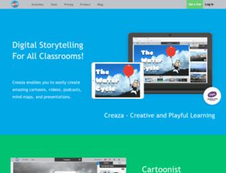 creazaeducation.com screenshot