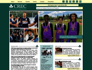 crec.org screenshot