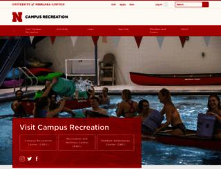 crec.unl.edu screenshot