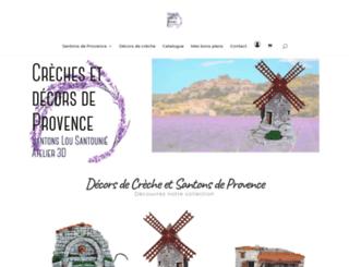 creche-decor-provence.com screenshot