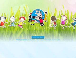 creche-les-piousous.com screenshot